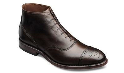 Top of the line suit boots.