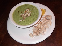 Chicken and Cheesy Broccoli Soup