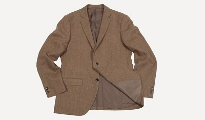 One of F&O's soft shouldered jackets.
