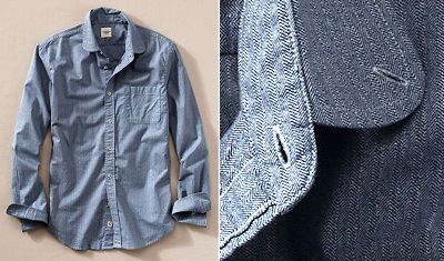A new take on the layering shirt.