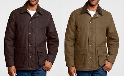 Water repellent and insulated.
