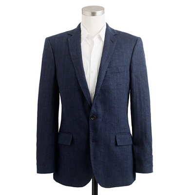 J Crew Ludlow Italian Linen Sportcoat on sale