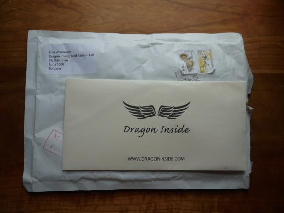 Envelope in an envelope.
