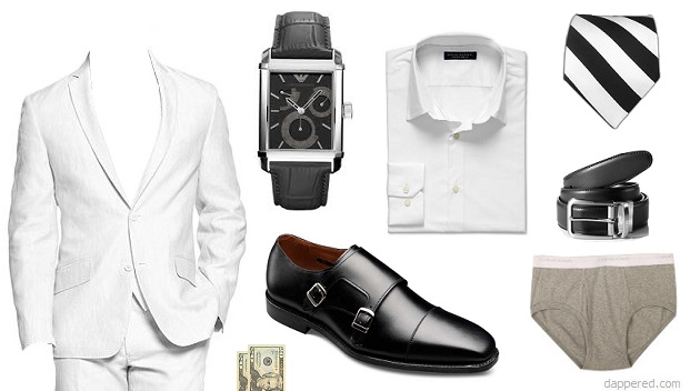 What to wear to a summer white party Dappered Style Scenario