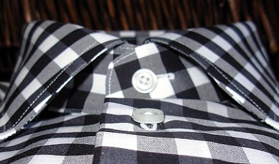 Bold Check Dress Shirt