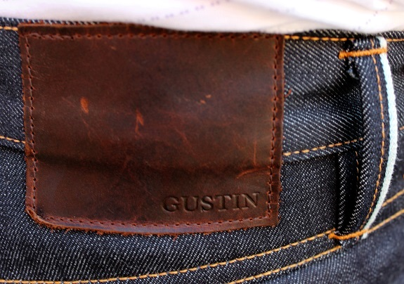 Gustin Leather Patch and loop