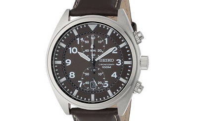 Seiko Brown Chrono
