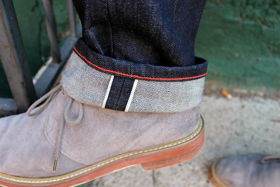 Selvage Red Chainstitch