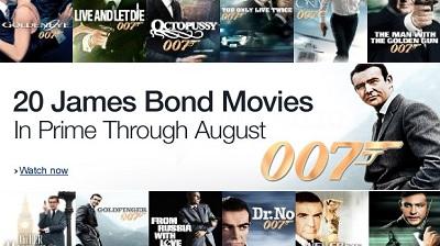 Bond 007 in August