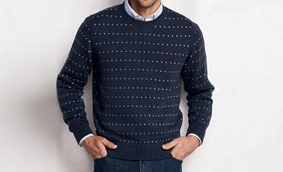 LE Dot Sweater