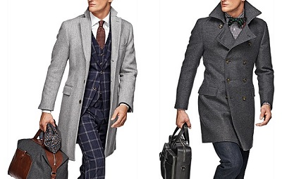 Suit Supply Overcoats