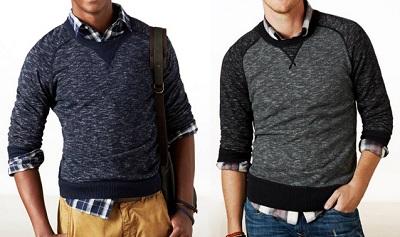 AE sweatshirt duo
