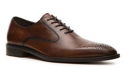 Aston Grey Sleek Oxfords