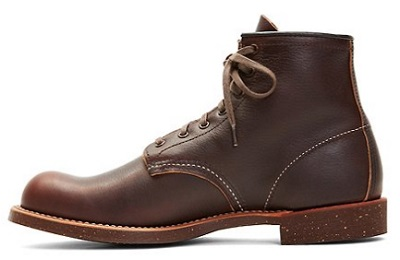 Pebbled Red Wing