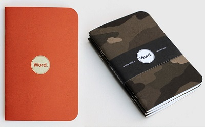 word notebooks cool material