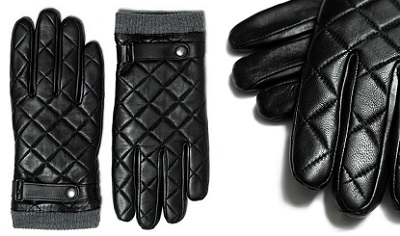 zara quilted glove