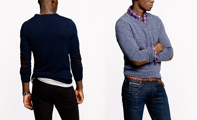 JCrew Slim Elbow Patch Sweaters