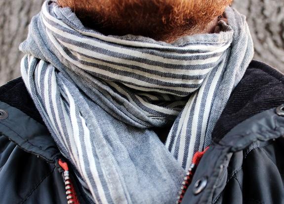crisp scarf