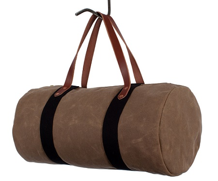 saddle wax duffel