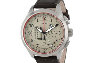 Timex Sport beige chrono on Dappered.com