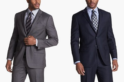 Abboud Trim Fit Suits on Dappered.com