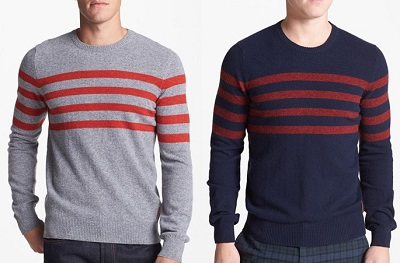 Ben Sherman Striped Sweaters on Dappered.com