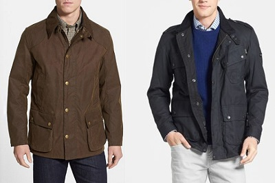 Barbour jackets on Dappered.com