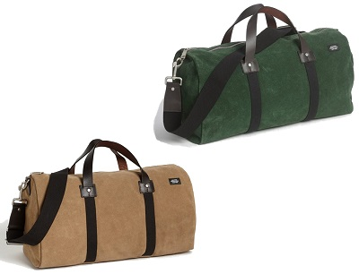 Jack Spade Suede Duffels on Dappered.com