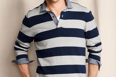 LEC Cotton/Cashmere Rugby on Dappered.com
