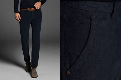 MD Melange Trousers on Dappered.com