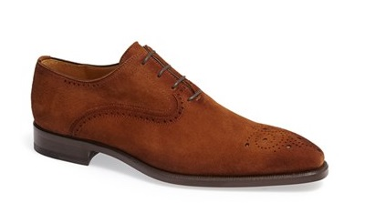 Magnanni Suede Oxford on Dappered.com