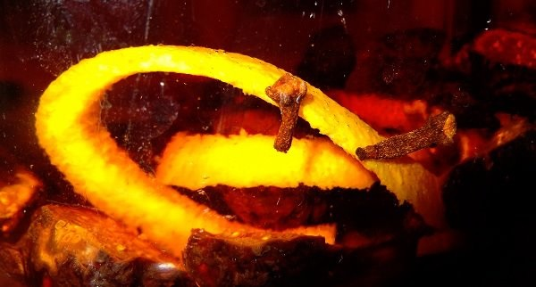 Old Crow orange peel fig and clove