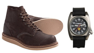 Red Wing Suedes plus Bertucci on Dappered.com