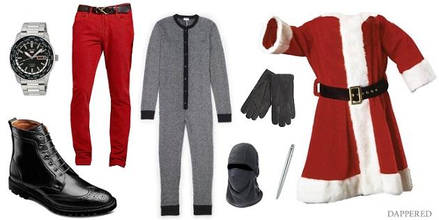 Style Scenario Santa on Xmas Eve by Dappered.com