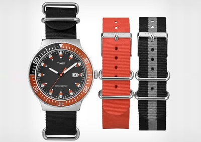 Timex 70s dive watch on Dappered.com