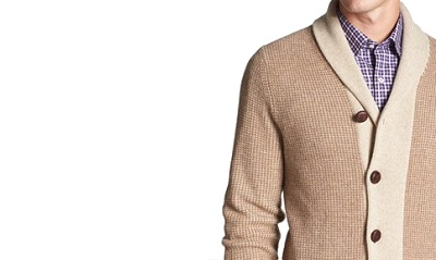 Wallin Shawl Collar Cardigan on Dappered.com