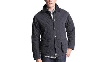 quilted jersey jacket on Dappered.com