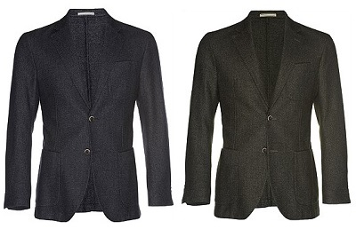 suitsupply unstructured outlet blazers on Dappered.com