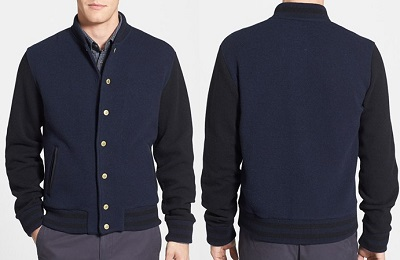 Woolrich Varsity Jacket on Dappered.com