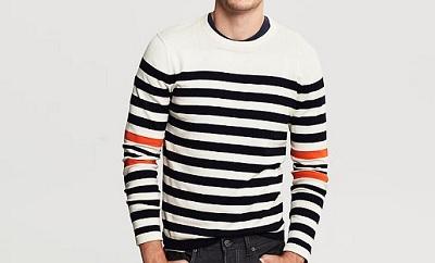 BR Color stripe sweater / Dappered.com