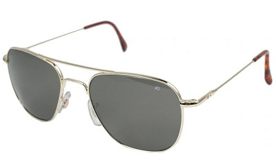 Gold Aviators / Dappered.com