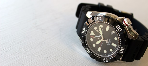 Orient M Force AD on Dappered.com