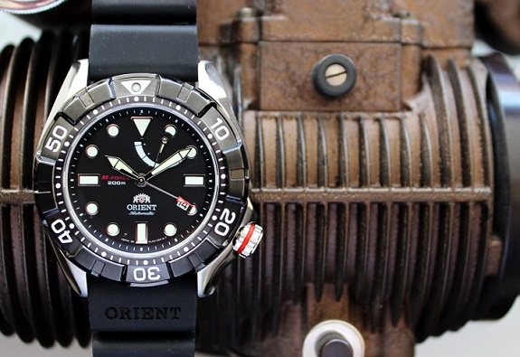 Orient M Force Air Diver on Dappered.com