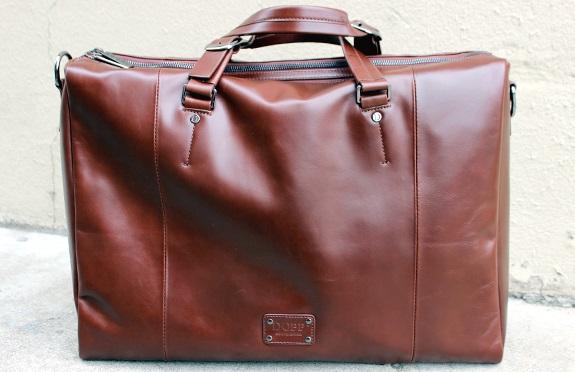 Dopp Leather Briefcase on Dappered.com