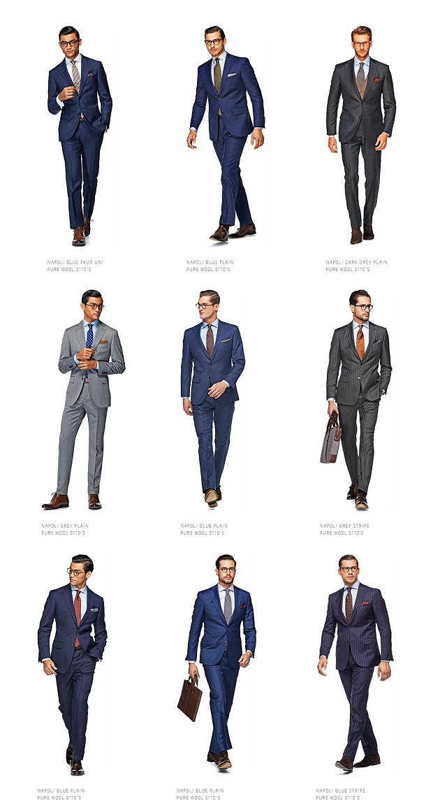 A look at Suitsupply's Blue Line on Dappered.com