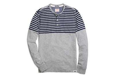 BB  Striped Henley on Dappered.com
