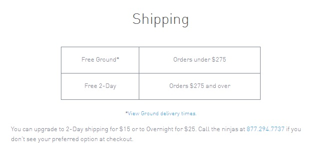 Bonobos shipping is back to free
