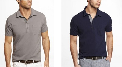 Express Signature Chambray plackets on Dappered.com