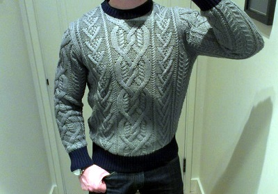 JCrew Expensive Sweater