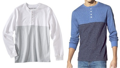 Mossimo Target Henley on Dappered.com